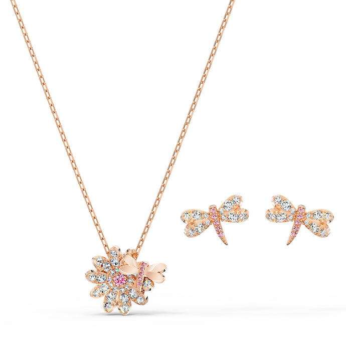 eternal-flower-dragonfly-set-pink-rose-gold-tone-plated