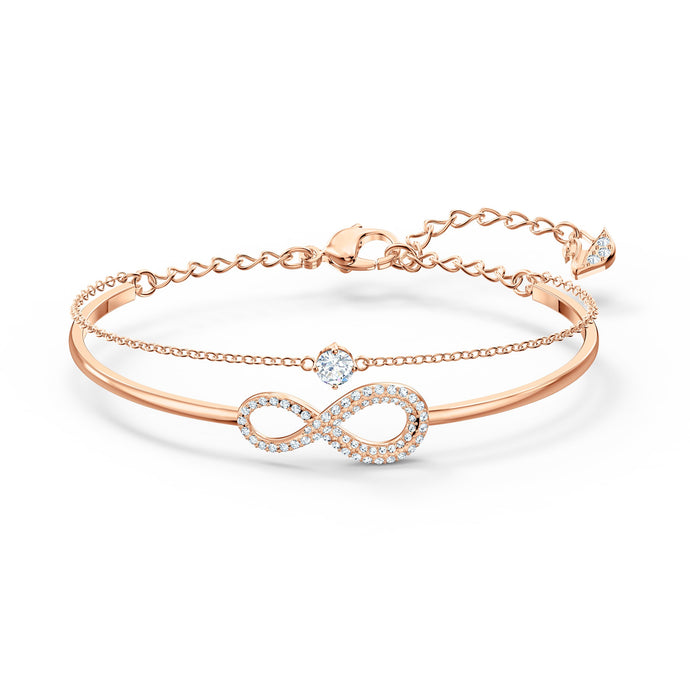 swarovski-infinity-bangle-white-rose-gold-tone-plated