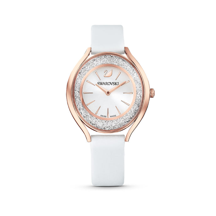 crystalline-aura-watch-leather-strap-white-rose-gold-tone-pvd