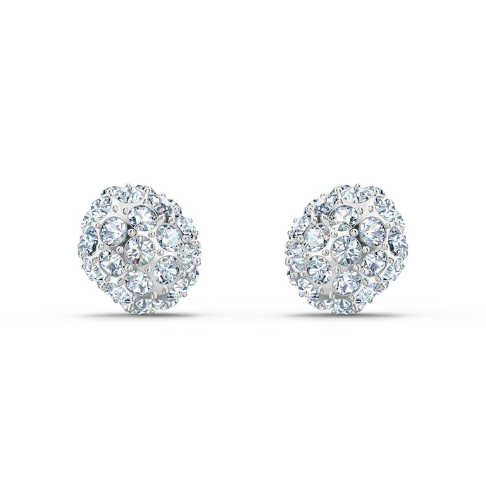 so-cool-stud-pierced-earrings-white-rhodium-plated