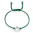 Load image into Gallery viewer, swarovski-power-collection-buddha-bracelet-green-stainless-steel