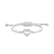 Load image into Gallery viewer, swarovski-power-collection-heart-bracelet-white-stainless-steel