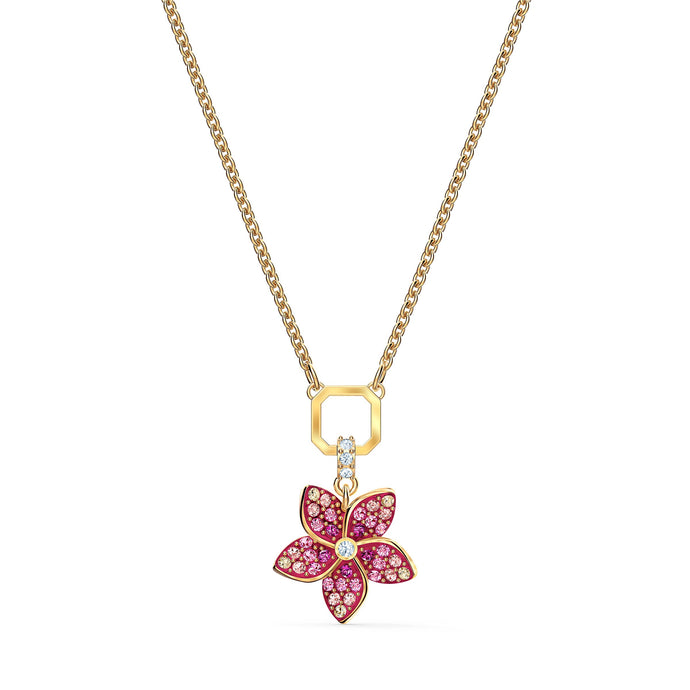 tropical-flower-pendant-pink-gold-tone-plated