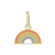 Load image into Gallery viewer, swarovski-remix-collection-rainbow-charm-light-multi-colored-gold-tone-plated