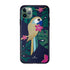 tropical-parrot-smartphone-case-with-bumper-iphone-r-11-pro-max-dark-multi-colored