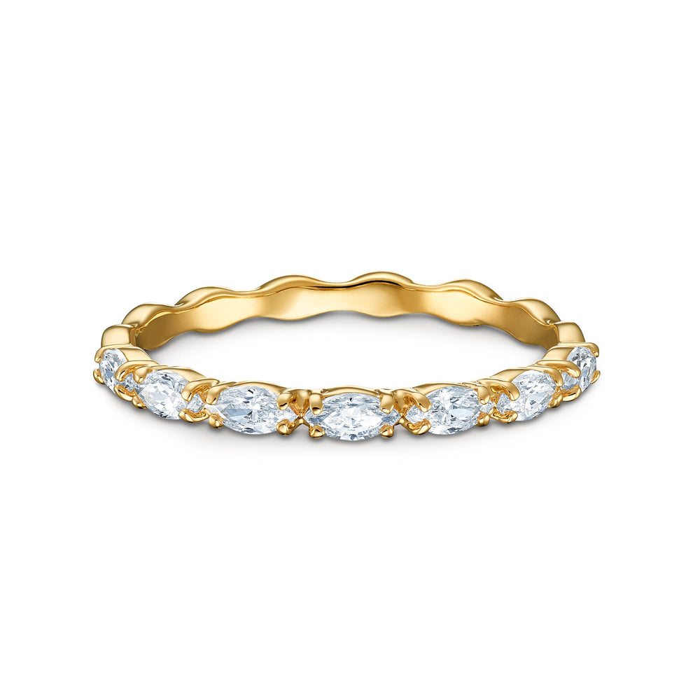 Vittore-Marquise-Ring-White-Gold-tone-plated