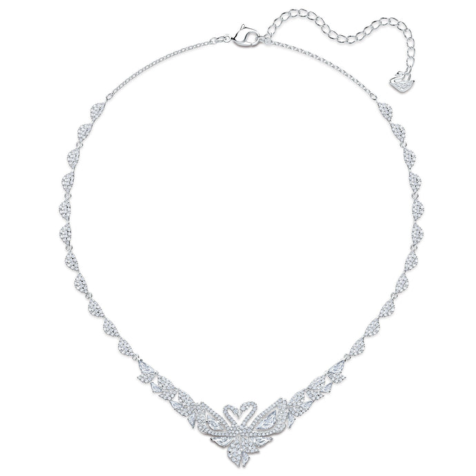 dancing-swan-necklace-white-rhodium-plated