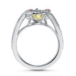 Load image into Gallery viewer, swarovski-sparkling-dance-cat-ring-light-multi-colored-rhodium-plated
