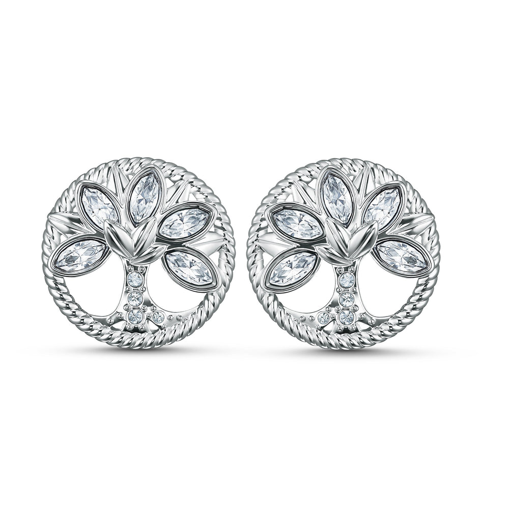 swarovski-symbolic-tree-of-life-stud-pierced-earrings-white-rhodium-plated
