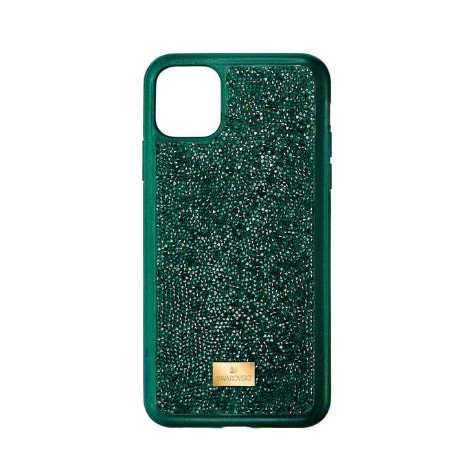 Glam Rock Smartphone Case with Bumper, iPhone® 11 Pro, Green