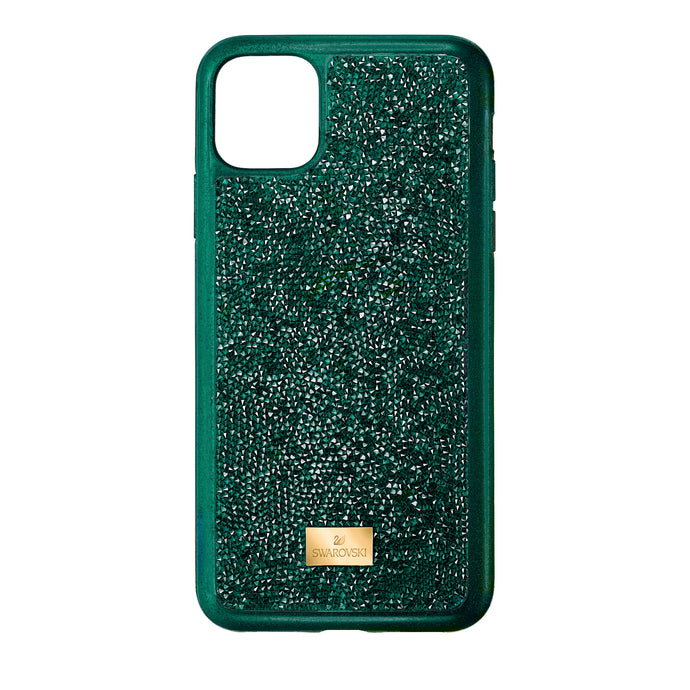 Glam Rock Smartphone Case with Bumper, iPhone® 11 Pro Max, Green