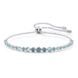 Load image into Gallery viewer, Emily Gradient Bracelet, Blue, Rhodium plated