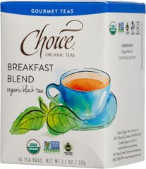 Breakfast Blend Organic Black Tea