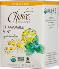 Chamomile Mint Organic Herbal Tea