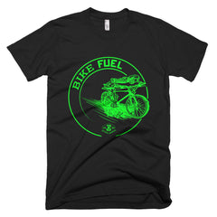 T-Shirt: Bike Fuel (Green)