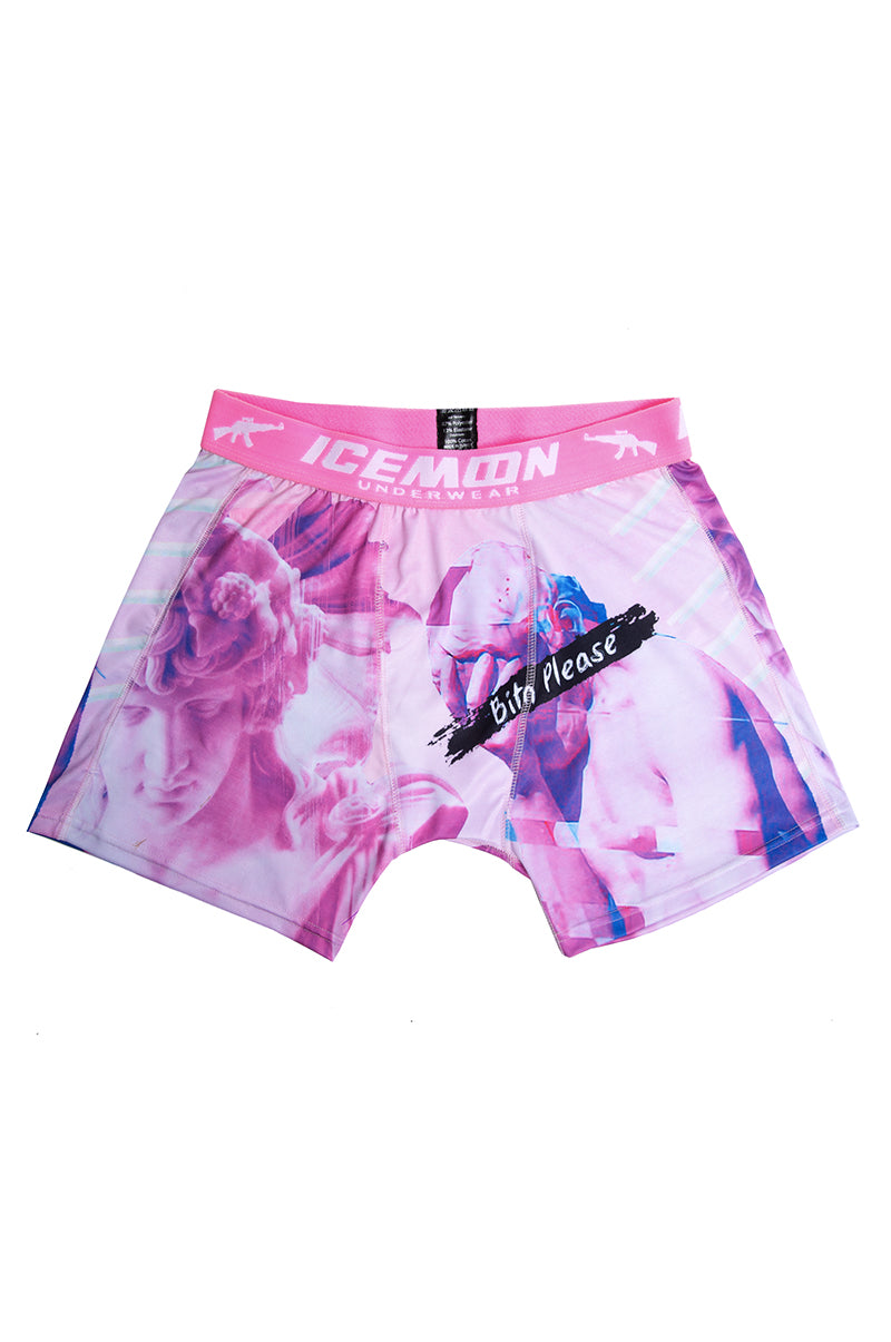 Boxer Homme Pink Art