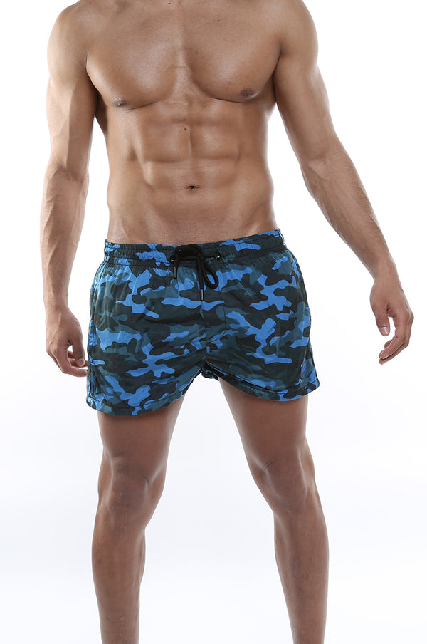 Short de bain Blue Star