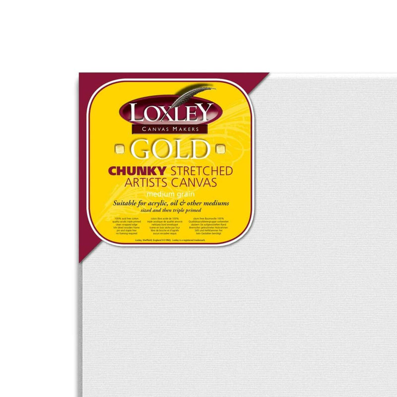 Loxley Gold Cotton Canvas Chunky 60inch x 30inch Box of 2