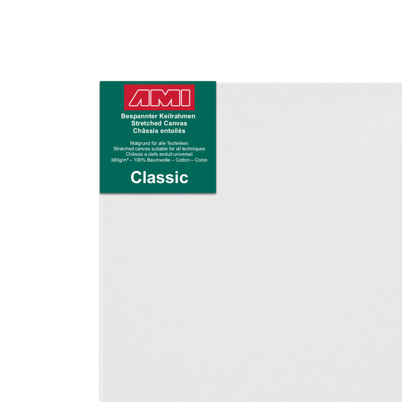 AMI Classic Cotton Canvas Traditional 100cm x 50cm Box of 6