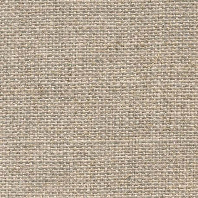 A close up of the texture of a Loxley Linen Canvas Roll Linen Unprimed that is 1 by 10 metres and 5 oz
