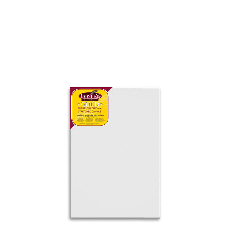 Front facing image of a Loxley Gold Standard Canvas that measures 30 by 20 inches and comes in a box of 5.