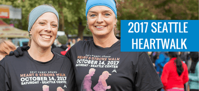Cool Shirts for a Good Cause: Seattle's Heart and Stroke Walk