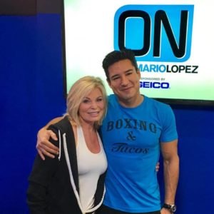 Mario Lopez and Tamilee