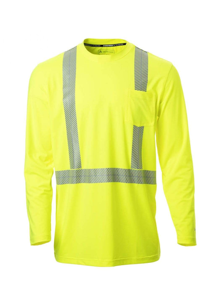 Men's Workwear Cooling Pocket Long Sleeve Safety Shirt