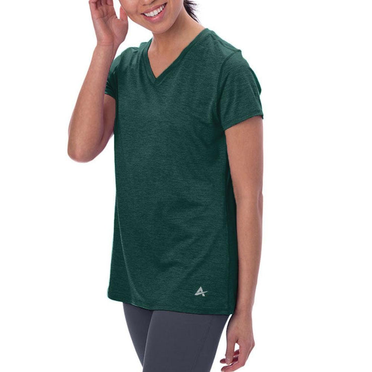 Women's Cooling V-Neck Short Sleeve Shirt