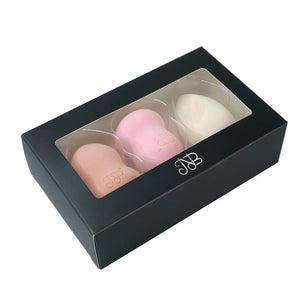 Three Makeup Sponges