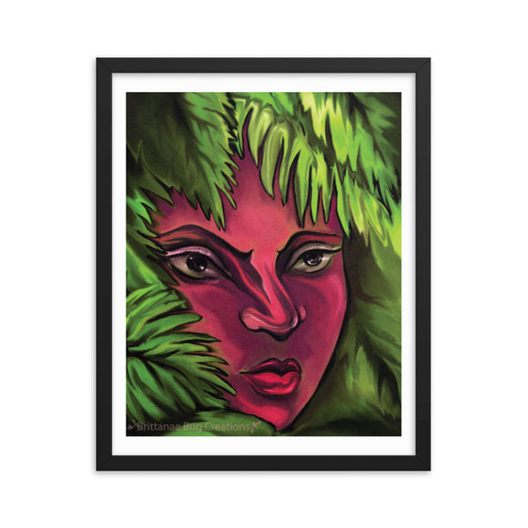 Natural Beauty Framed poster