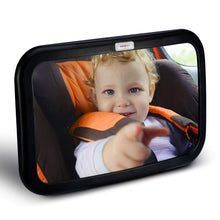 Load image into Gallery viewer, HOUSEDAY Baby Car Mirror | Most Stable | View Infant in Rear Facing Seat | 100% Lifetime Satisfaction Guarantee | Shatterproof & Crash Tested | Best Newborn Safety| Safety Car Seat Mirror for Rear Fac