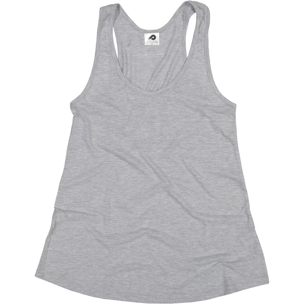 Ladies Light Grey Swing Vest