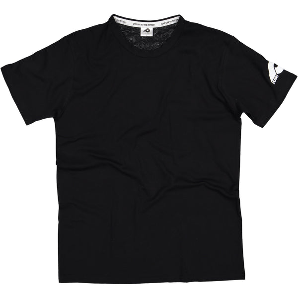 Mens Black Blank T-Shirt