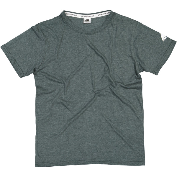 Mens Green Blank T-Shirt
