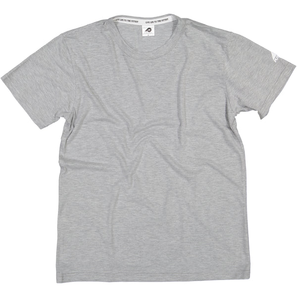 Mens Light Grey Blank T-Shirt