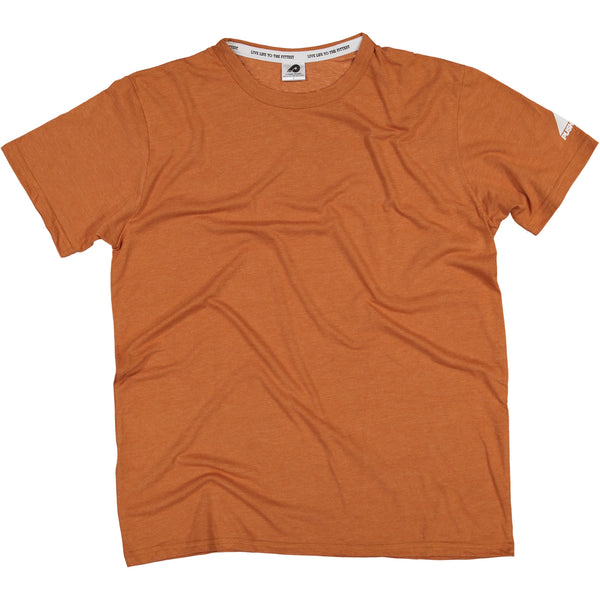 Mens Burnt Orange Blank T-Shirt