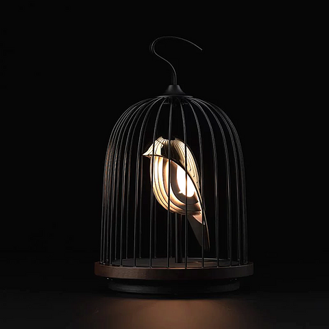 DAQICONCEPT【JINGOO】鳥籠無線⾳響燈  Wireless Audio Light | 金鳥