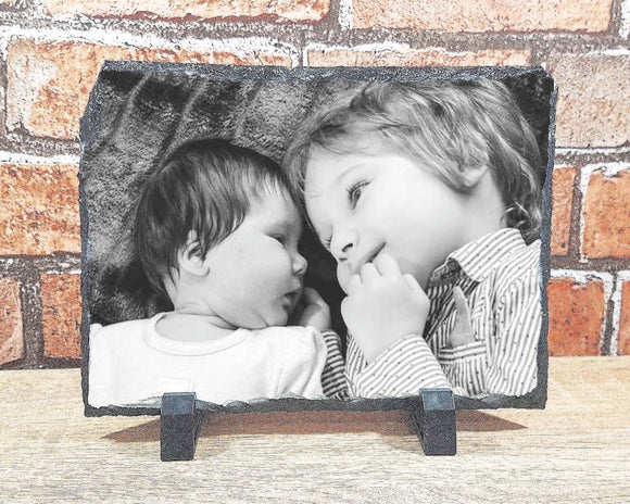Custom photograph rock slate