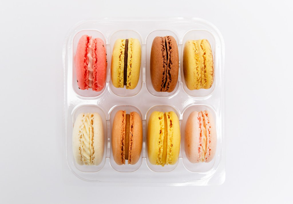 Box of 8 Mixed Macarons