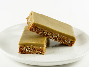 Ginger Crunch Slice