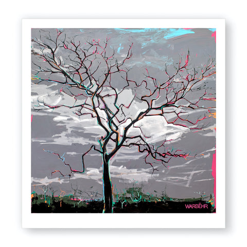 Lightning Tree, Fine Art Print
