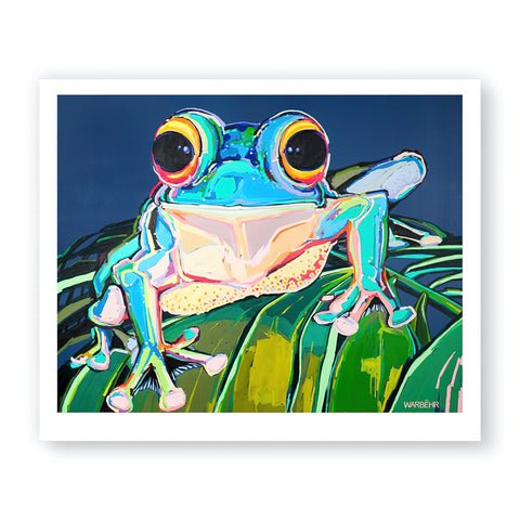 Spotted Tree Frog, Fine Art Print