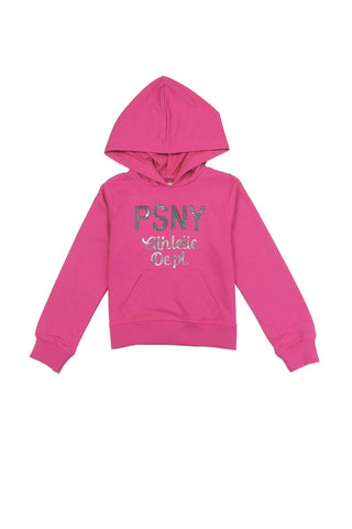 Girls aéropostale 7-14 hooded  french terry sweatshirt with sequin logo