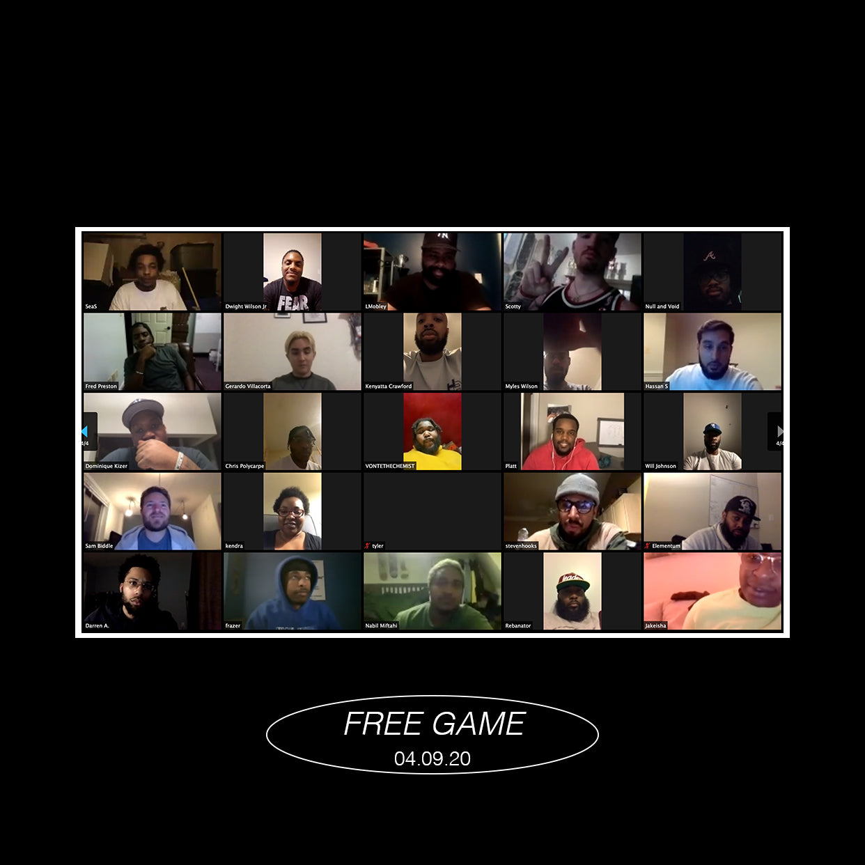 The Whitaker Grp Presents: Free Game with James Whitner via ZOOM