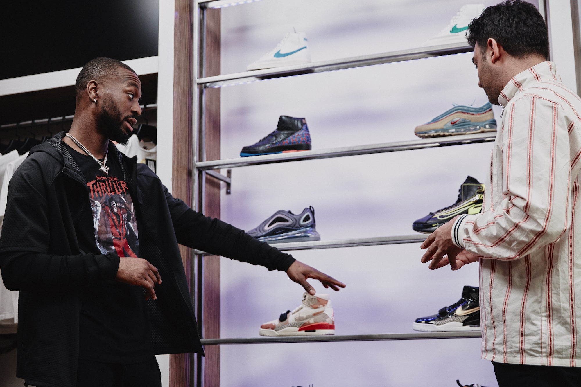 Complex Sneaker Shopping with Kemba Walker