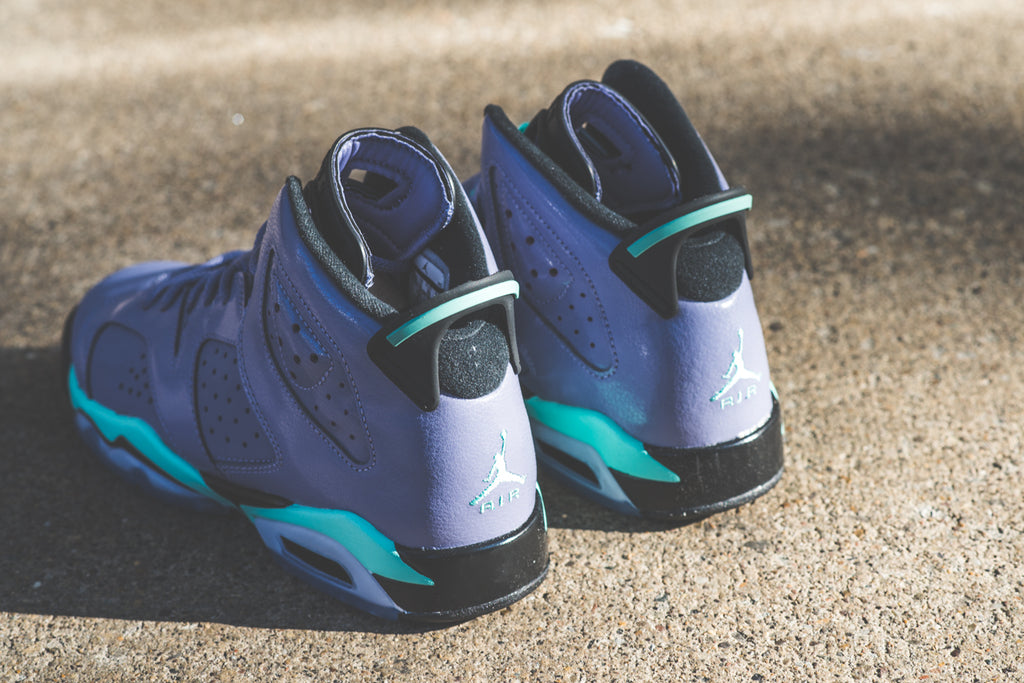 Buy Online Nike Air Jordan 6 Cheap sale Iron Purple Bleached Tur