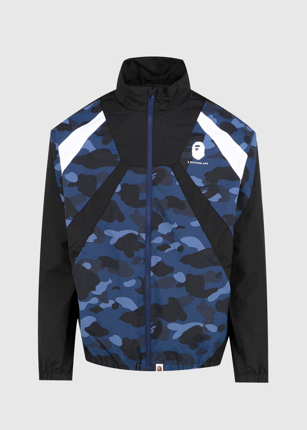 BAPE: COLOR BLOCK JACKET [NAVY]