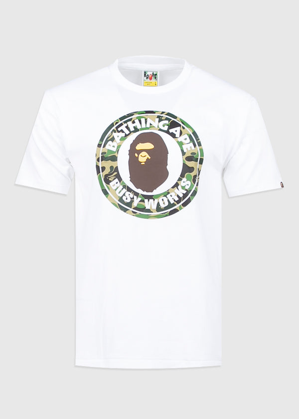BAPE: BUSY WORKS TEE [WHITE]