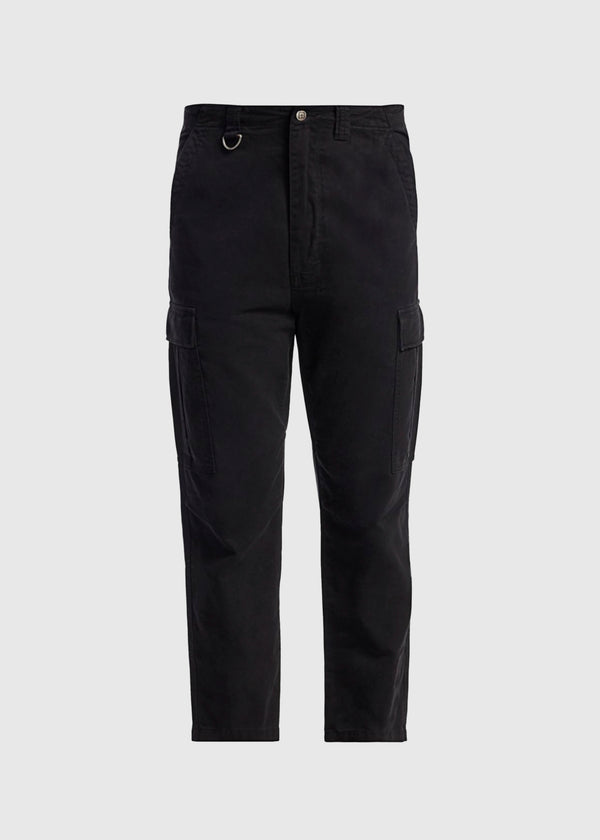 KSUBI: KRAFT CARGO PANTS [BLACK]